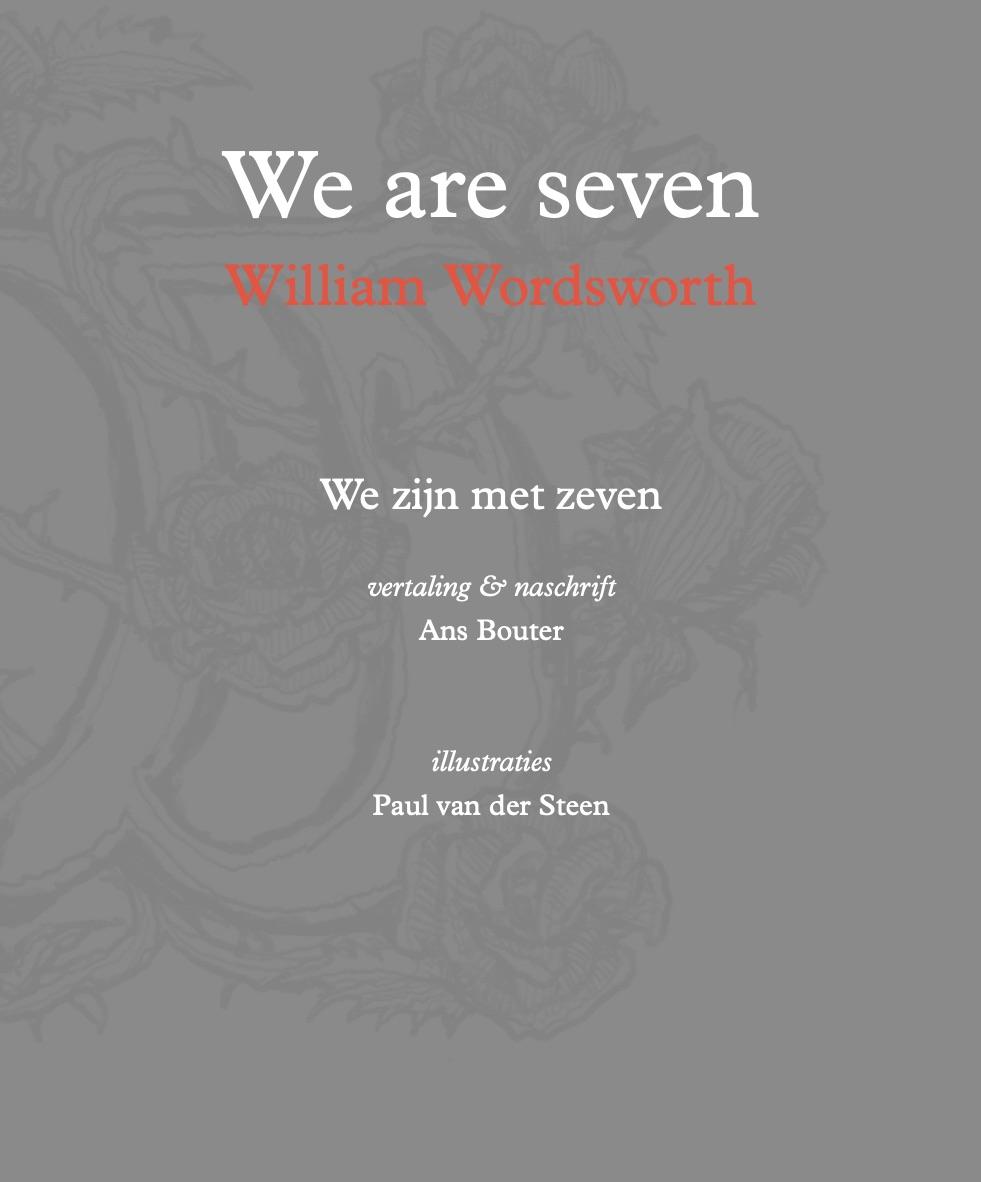 We are seven, we zijn met zeven, William Wordsworth